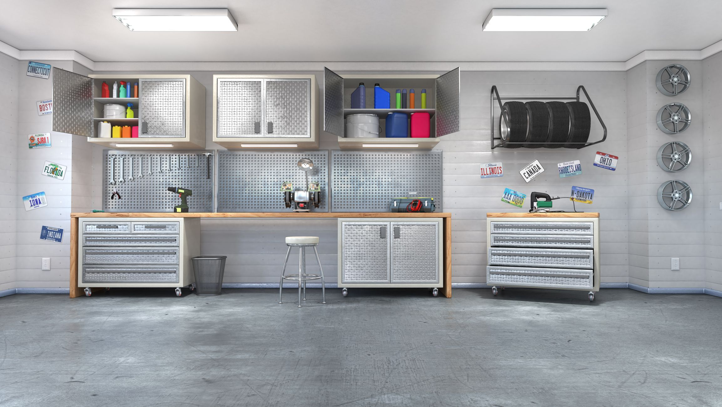 25 Smart Garage Organization Ideas - Garage Storage and Shelving Tips