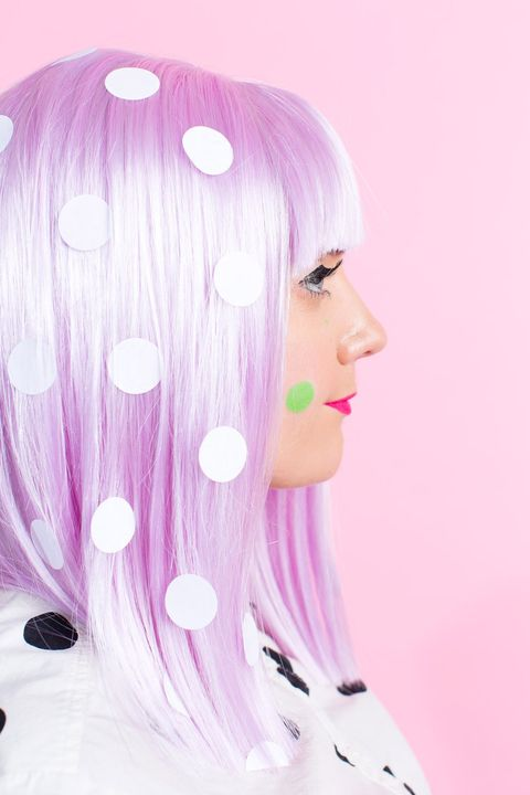 polka dot halloween costume   sugar and cloth
