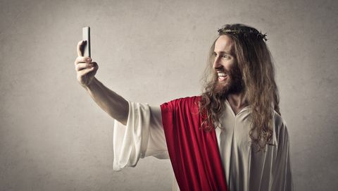 Jezus maakt een selfie