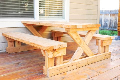 25 Diy Picnic Tables Best