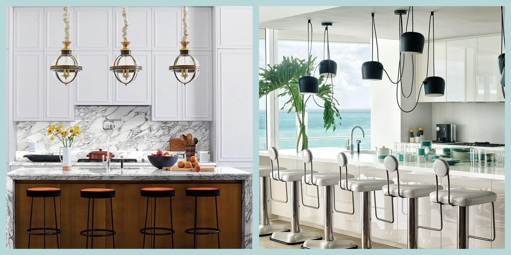 55+ Inspiring Modern Kitchens , Contemporary Kitchen Ideas 2020
