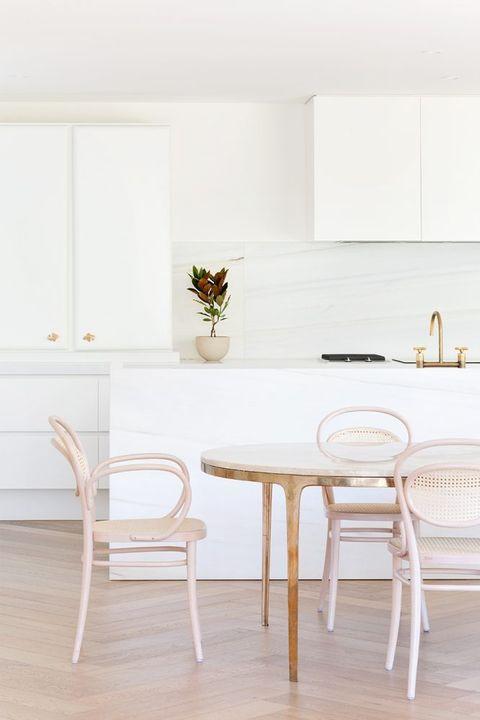White, Furniture, Room, Floor, Table, Interior design, Chair, Property, Tile, Flooring,