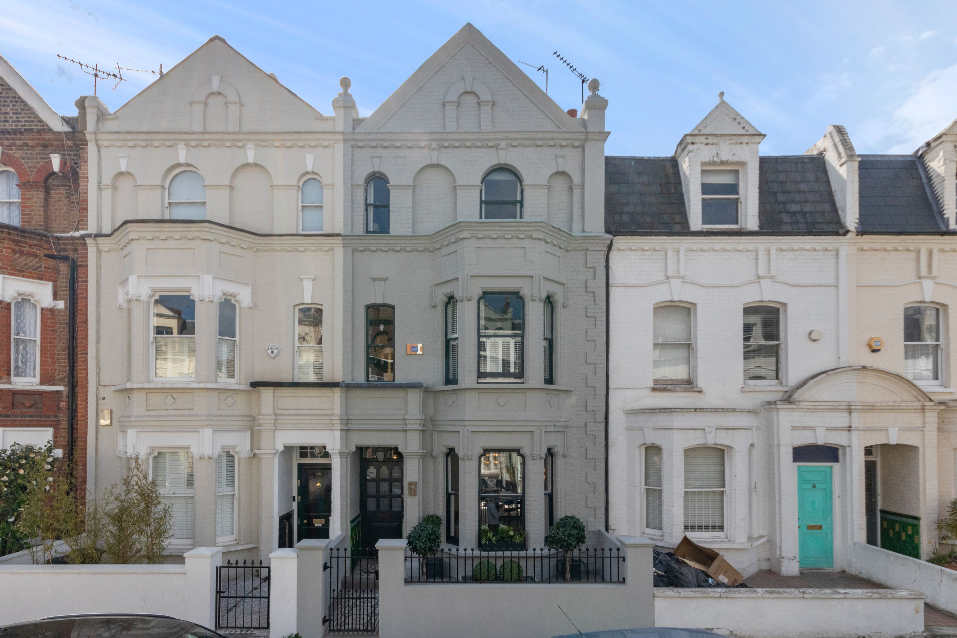 Step inside this modern four-storey property in Fulham, London