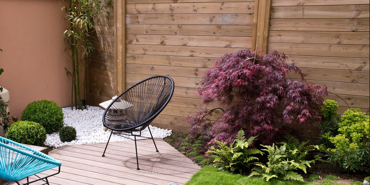 9 small garden design ideas on a budget small garden ideas - Small backyard landscape designs ...