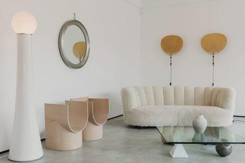 vintage furniture gallery beton brut
