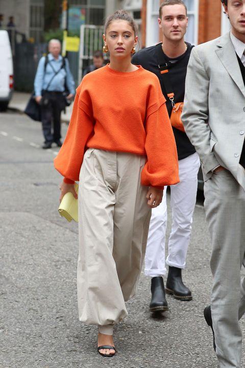 Modetrend 2019 oranje