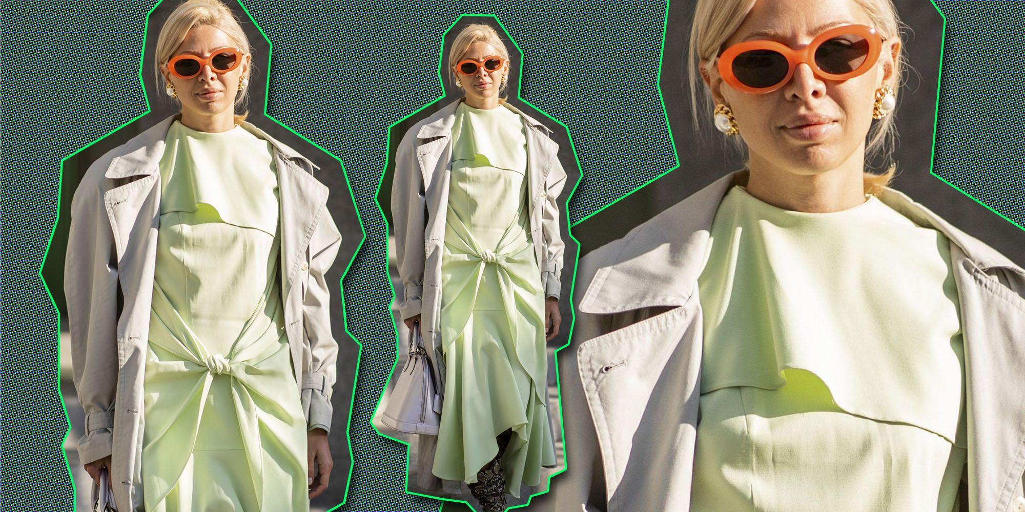 Modetrend slijmgroen, but is it fashion