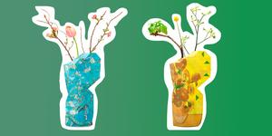 Het van Gogh Museum heeft een bijzondere bloemen-collectie ontworpen speciaal voor Moederdag.