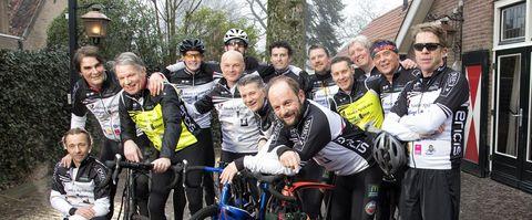 fietsgroep Moek Spijkstra, interview