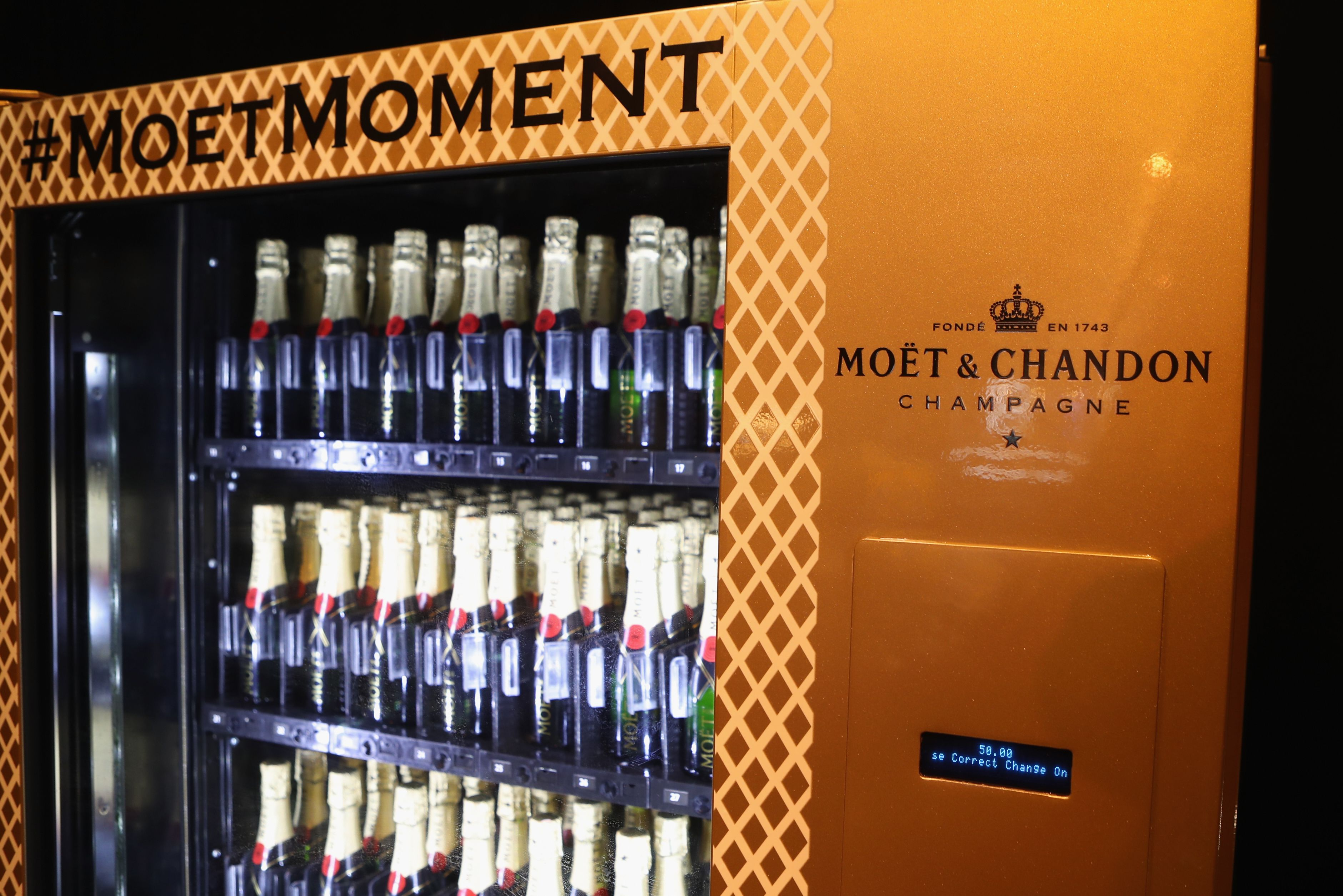 A Moët & Chandon Champagne Vending Machine Has Arrived in New York