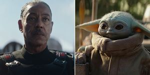 The Mandalorian Moff Gideon Baby Yoda