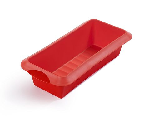 Bread pan, Red, Plastic, Tray, Rectangle, Cookware and bakeware, Serveware,