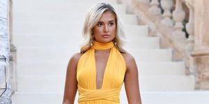 molly mae yellow dress