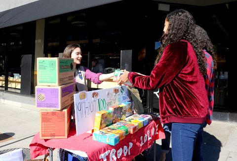 US-CULTURE-COMMUNITIES-GIRLSCOUTS-COOKIES