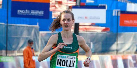 Molly Huddle 2013 NYC Marathon Weekend