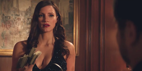 molly's game, jessica chastain