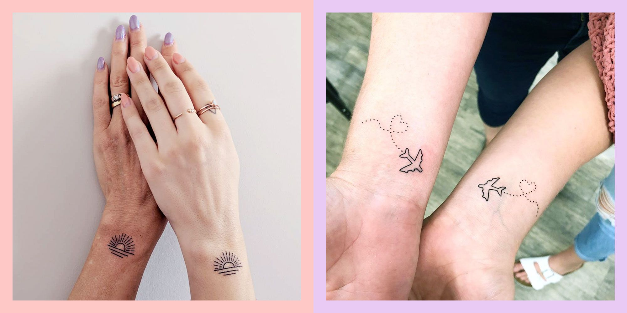 32 Mother Daughter Tattoo Ideas And Matching Designs For 2020