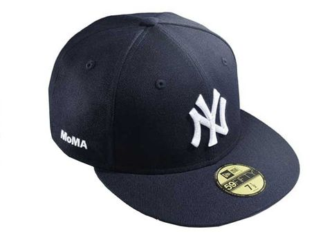 9b0367f13a510 History of Yankees Cap - New Era Yankees Cap at MoMA Exhibit