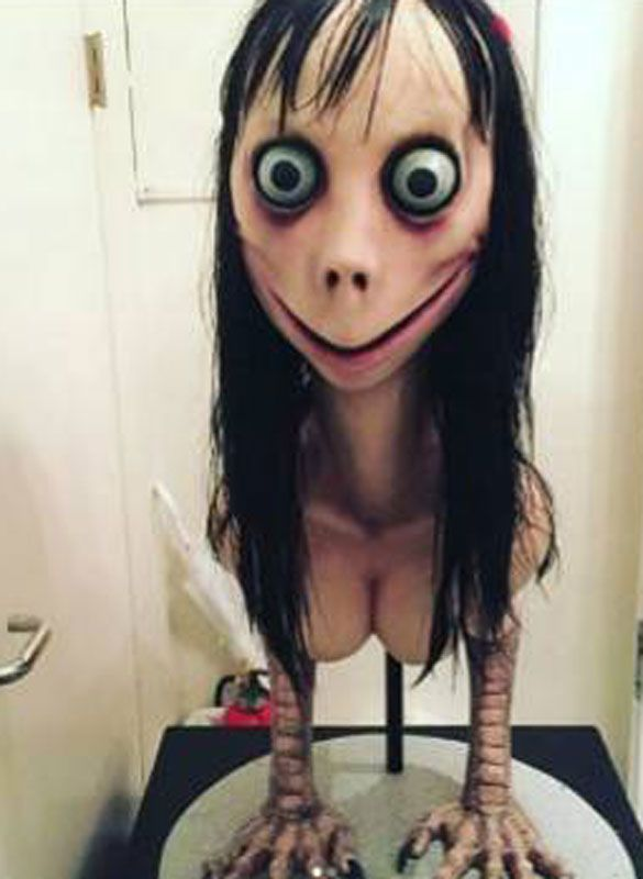 The Momo challenge is becoming a film - its origin is very