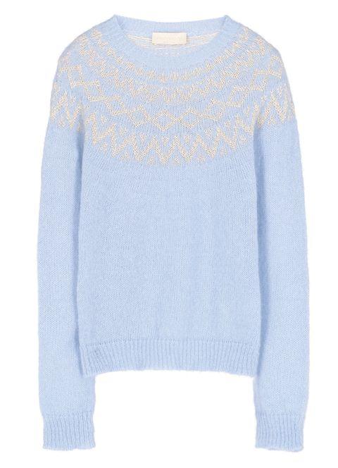 momoni maglione stile norvegese tendenza moda inverno 20202021