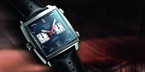 l'atteggiamento migliore 897d2 e745c Tag Heuer Monaco, l'orologio da leggenda di Steve McQueen