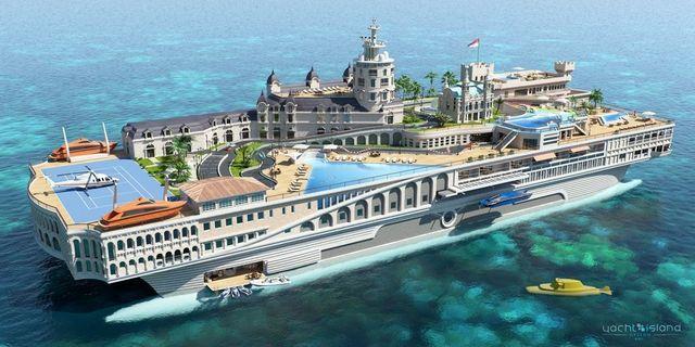 yacht island design