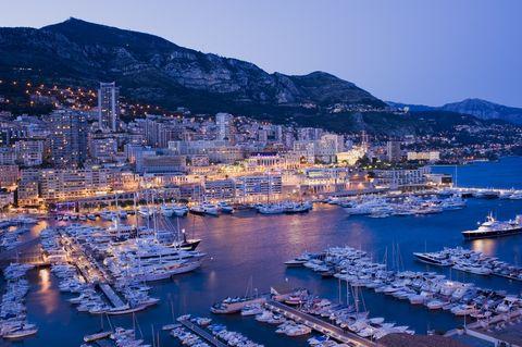 monaco harbour and marina in monte carlo