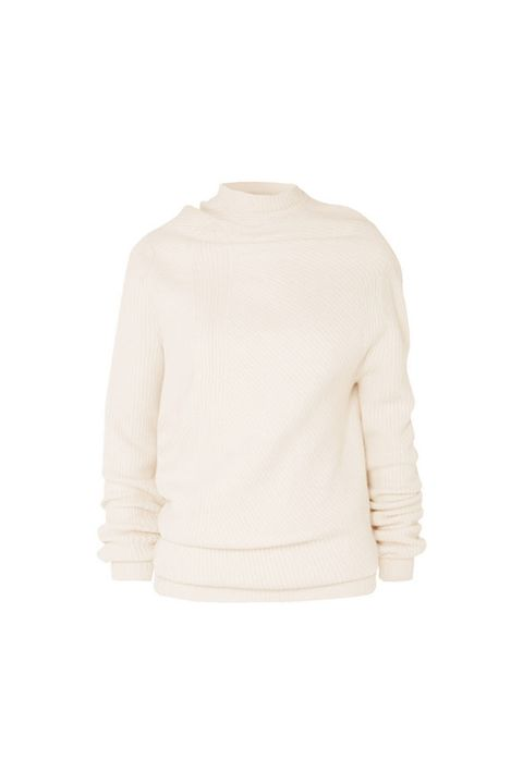 Clothing, White, Outerwear, Sweater, Sleeve, Neck, Beige, Cardigan, Top, Long-sleeved t-shirt,