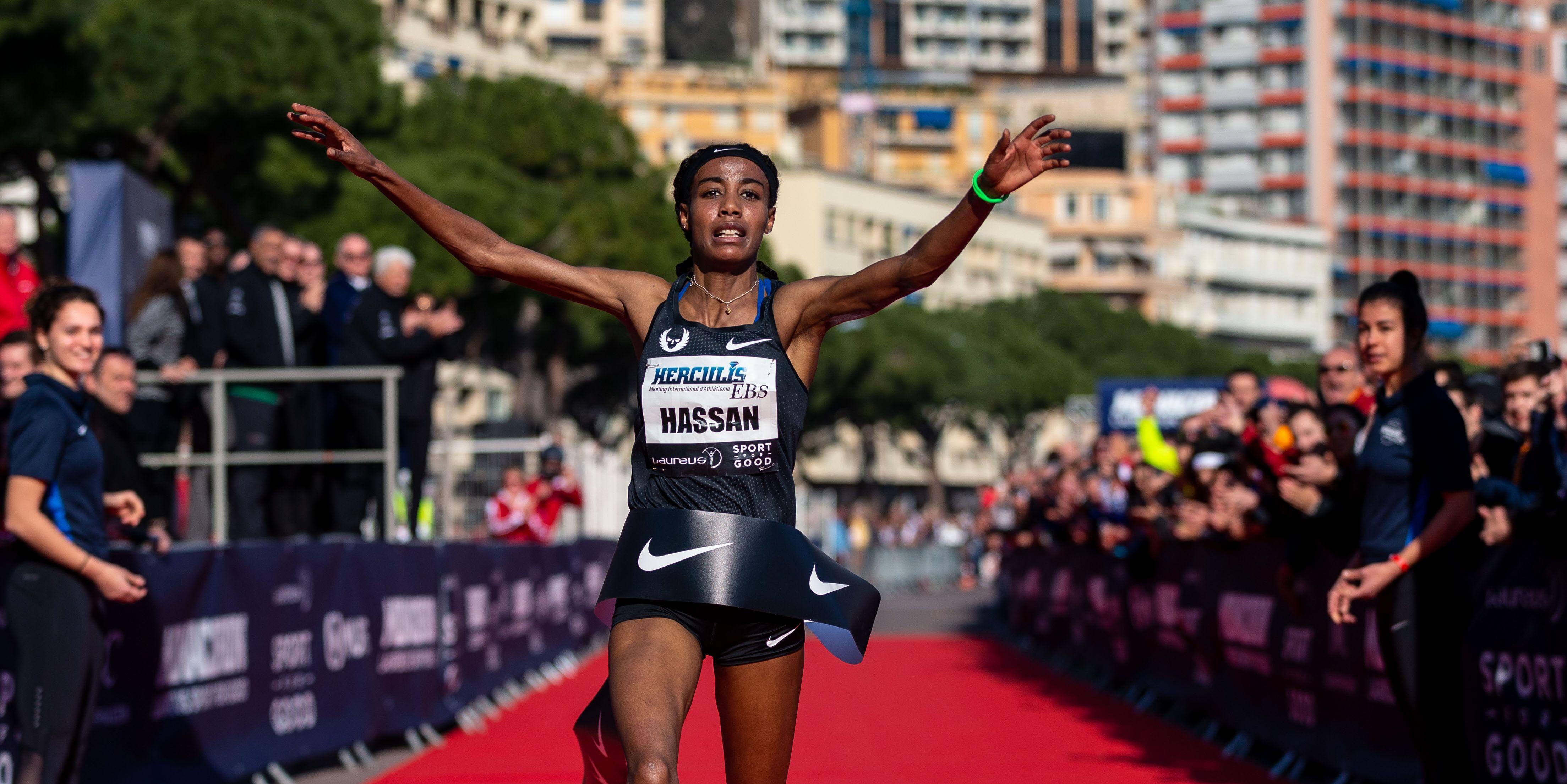 5 km, hardlopen, hassan, runner's world, runnersweb, sifan, weg, wereldrecord