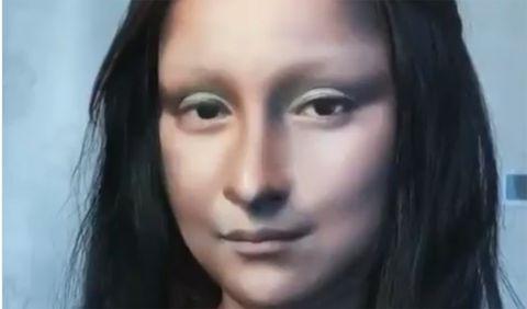 Esta chica lograr ser igual que La Mona Lisa maquillándose