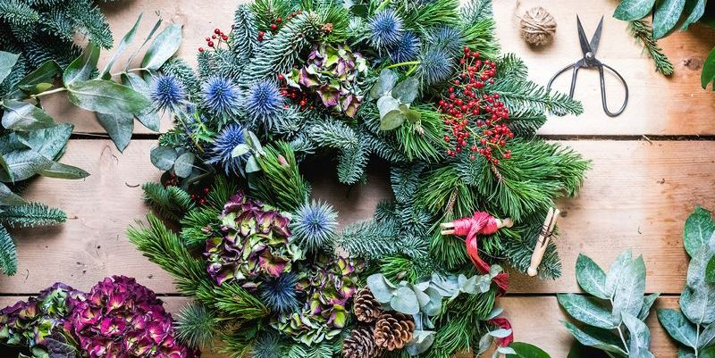 How to make a fresh foliage Christmas wreath: Tickets for virtual workshop on sale now