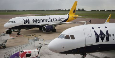 Monarch Airlines flights cancelled