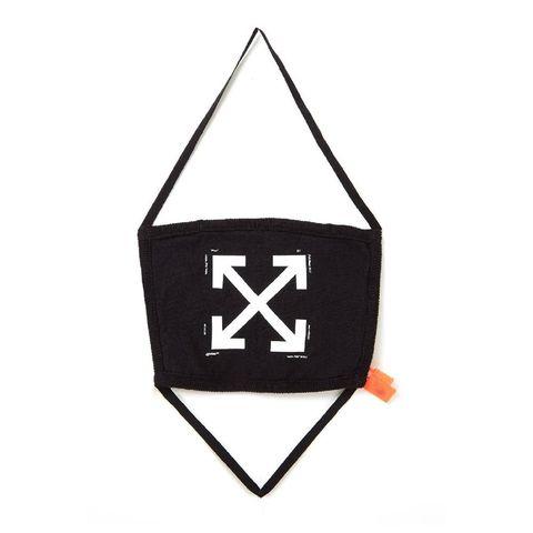 off white   new iconic arrow   niet medisch mondkapje met logo