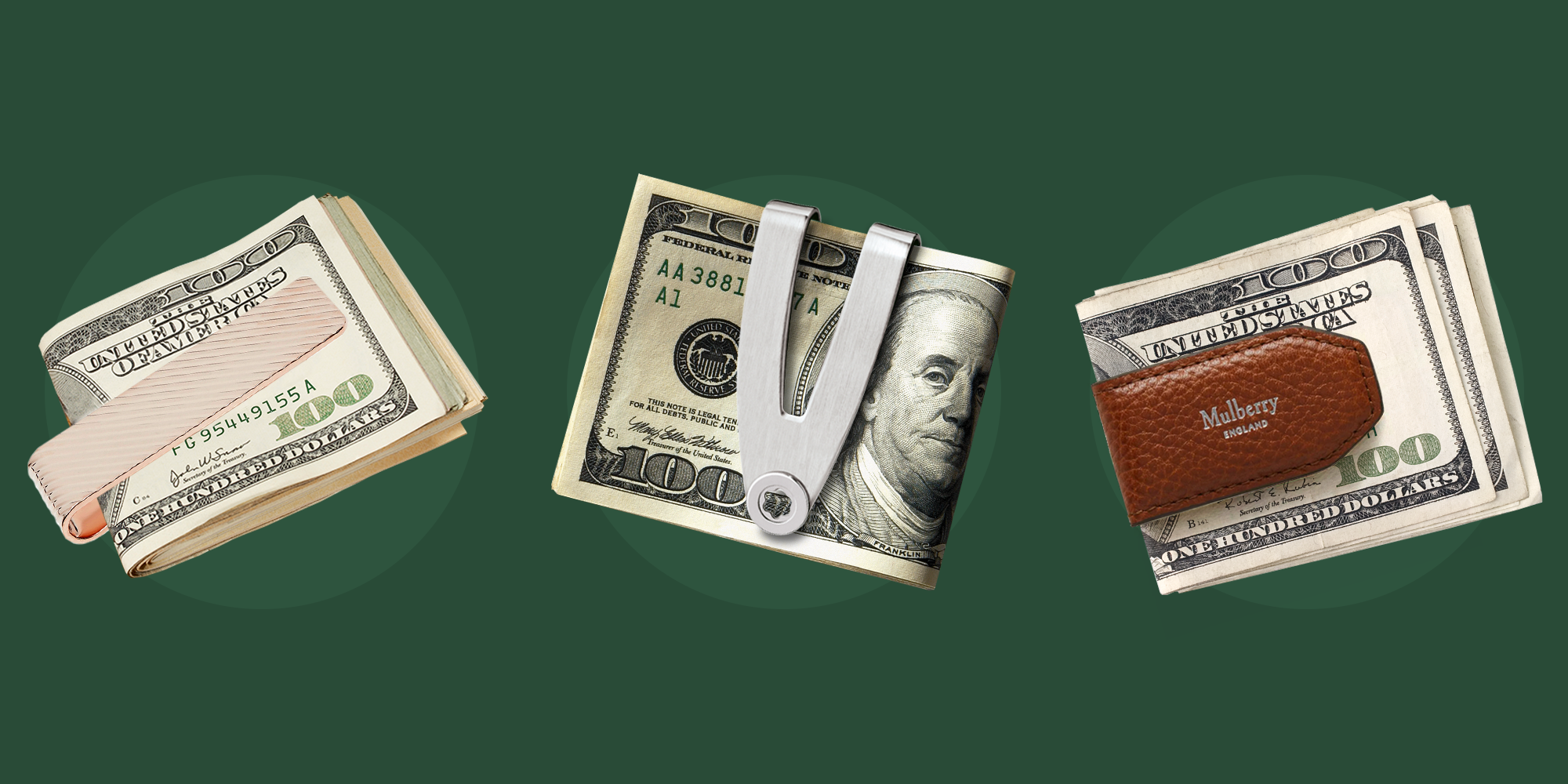 The 10 Best Money Clips That'll Let You Ditch Your Bulky Wallet