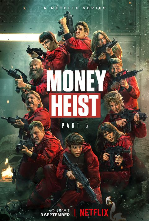 Money Heist – Part 5 Vol. 1 (2021) Hindi Dubbed Official Trailer NF 720p HDRip