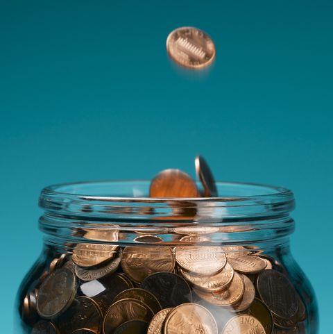 money saving tips coins