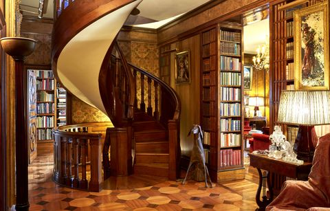 Room, Interior design, Building, Furniture, Property, Architecture, House, Home, Wood, Lobby,