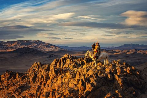 Sky, Nature, Mountainous landforms, Mountain, Natural landscape, Cloud, Badlands, Rock, Wilderness, Mountain range,