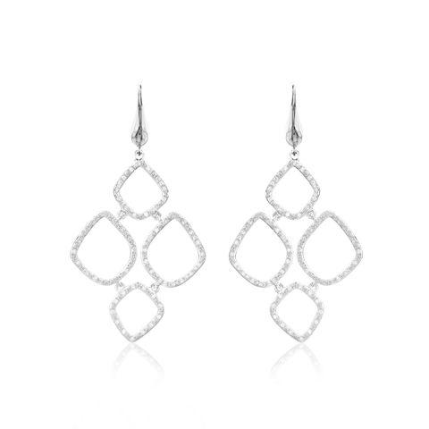 Earrings, Jewellery, Fashion accessory, Body jewelry, Silver, Metal, Silver, Platinum,