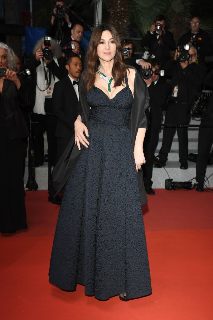 Monica Bellucci At the premiere of Les Plus Belles Annees D'Une Vie .