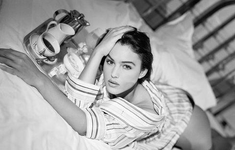Italian Actress and Model Monica Bellucci