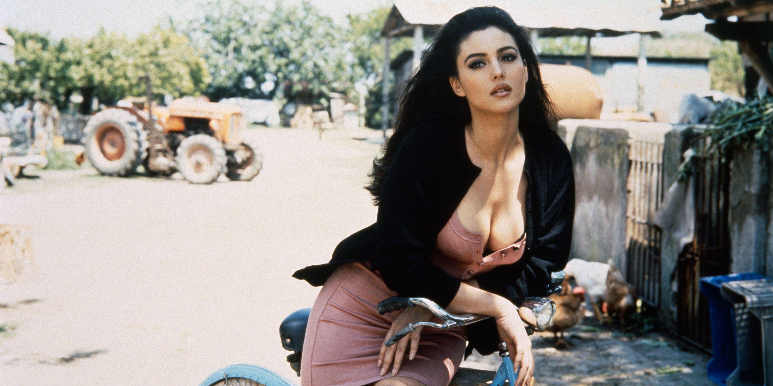 Monica Bellucci joven