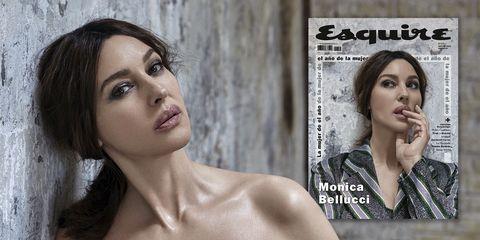 monica bellucci portada esquire agosto