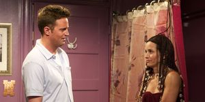 Friends Monica y Chandler