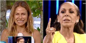 La tensa despedida de Mónica con Isabel