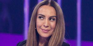 Mónica Naranjo en el plató de OT 2017 como jurado