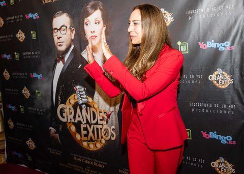 Mónica Naranjo en el estreno de 'Grandes Éxitos' en Barcelona