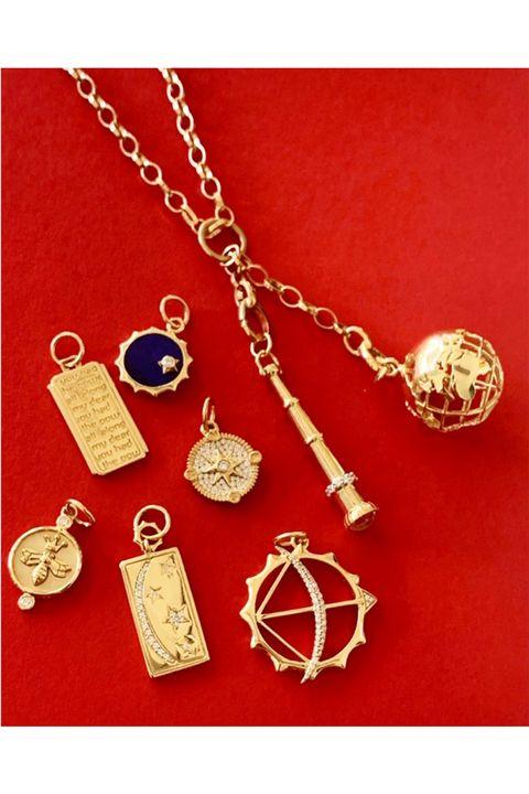 monica rich kosann instagram charm necklace