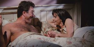 Monica and Richard in Friends