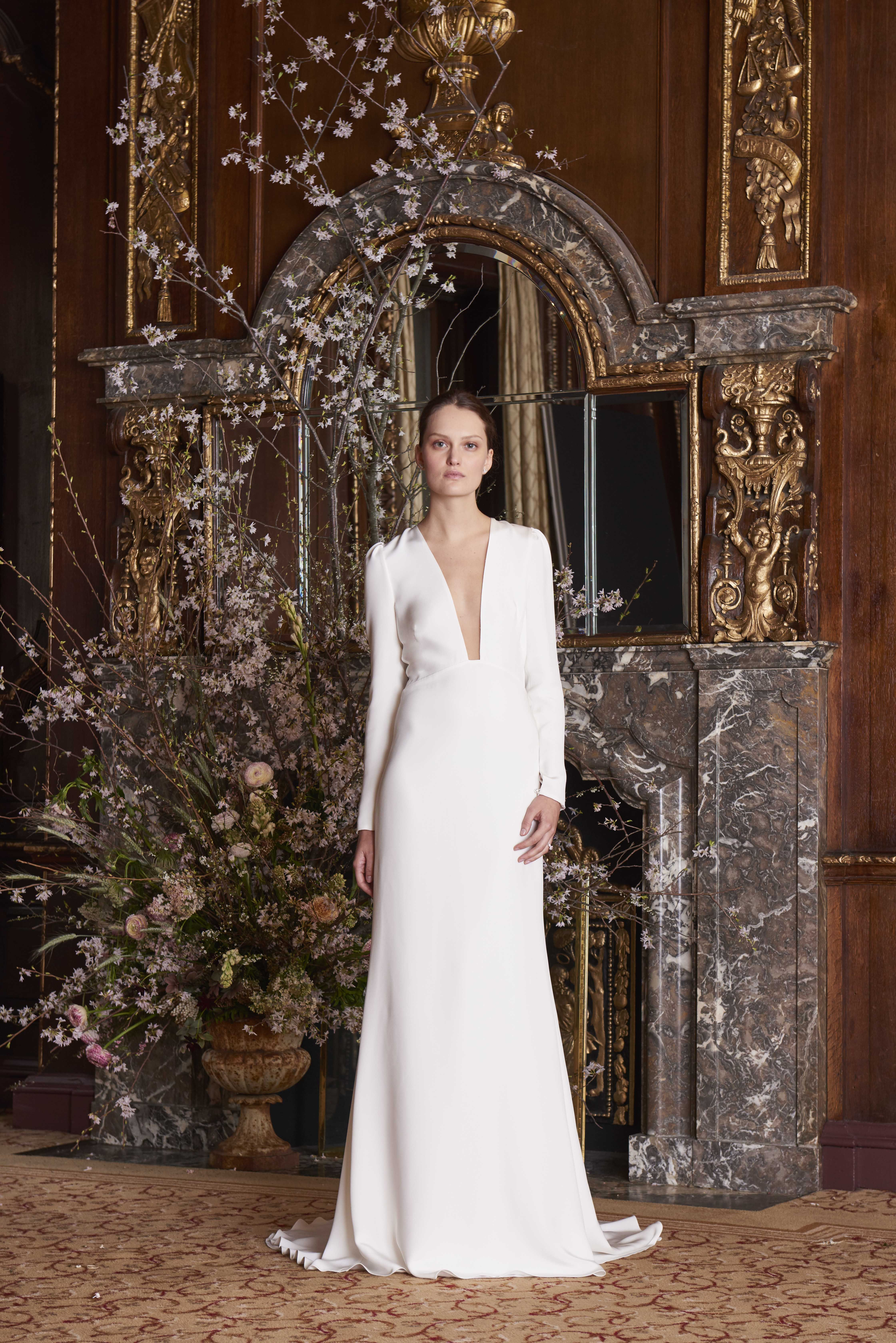 47527b16c7040 The Best Looks From Spring Bridal Week 2019